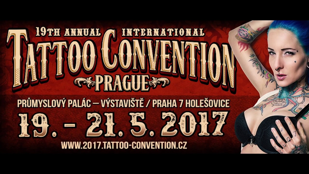 19th tattoo convention prague 2017 trailer youtube for Nc tattoo conventions 2017