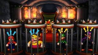 Mario Party: The Top 100 Minigames - Mario Vs Luigi Vs Waluigi Vs Wario(Hard COM)