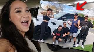 SURPRISING MY FRIENDS WITH MY NEW CAR