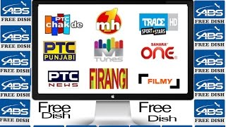 ABS FREE DISH SETTING and channel list free dish set top box