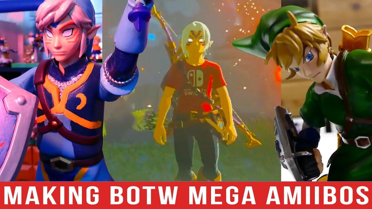 Fierce Deity & Skyward Sword Mega Amiibo!!