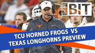 TCU vs Texas | Sports BIT Clip | College Football Odds & Picks