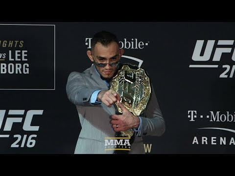 UFC 216: Tony Ferguson Post-Fight Press Conference - MMA Fighting