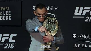 UFC 216: Tony Ferguson Post-Fight Press Conference - MMA Fighting