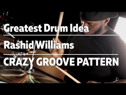 Rashid Williams Crazy Drum Pattern Groove / A LEZIONE DI BATTERIA DA...