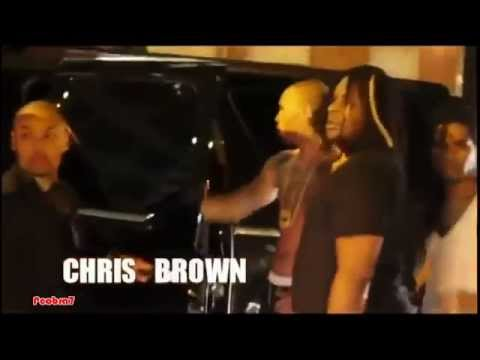 Chris Brown vs Drake Fight In NYC - YouTube