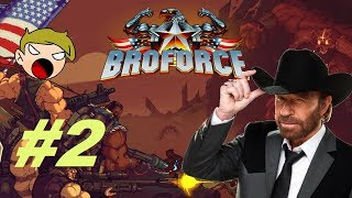 ENDING TERRORISM | Broforce #2