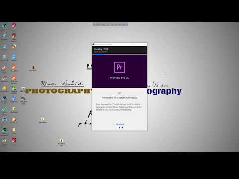 How To Download And Install Adobe Premiere Pro CC! #Download (A - Z)Latest Version  Free Download