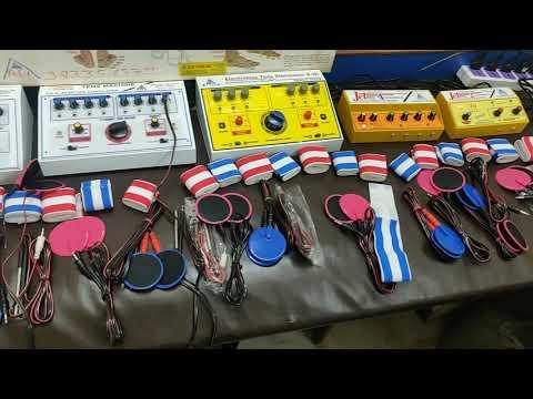 Electro Acupressure Acupuncture Stimulation Tens Therapy इलेक्ट्रो एक्यूप्रेशर एक्यूपंक्चर उत्तेजना