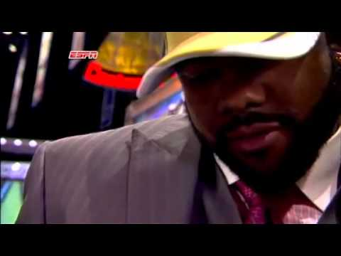 Mark Ingram Emotional Interview After Being Drafted To The Saints