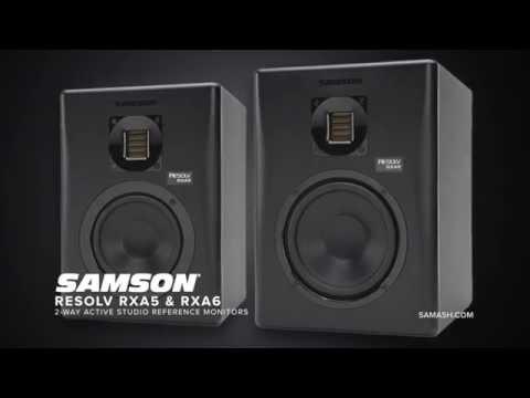 Samson Resolv RXA5 & RXA6 Studio Monitors