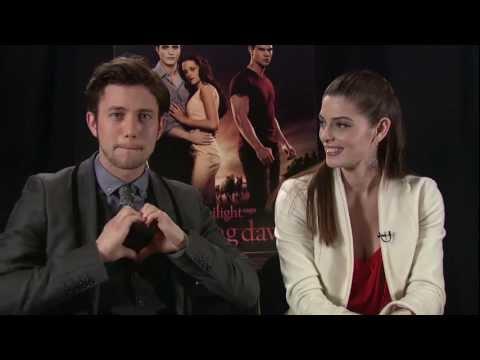 The Twilight Saga: Breaking Dawn - Part 1 - Ashley Greene and Jackson Rathbone