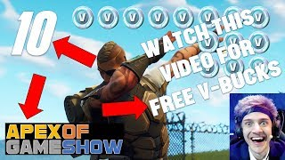 WATCH THIS VIDEO FOR FREE V-BUCKS | Apex of Game Show, Episode 10