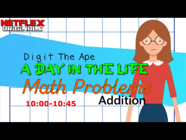 Addition (Math Class): Digit the Ape - A Day in the Life (Move 'n' Learn #5)