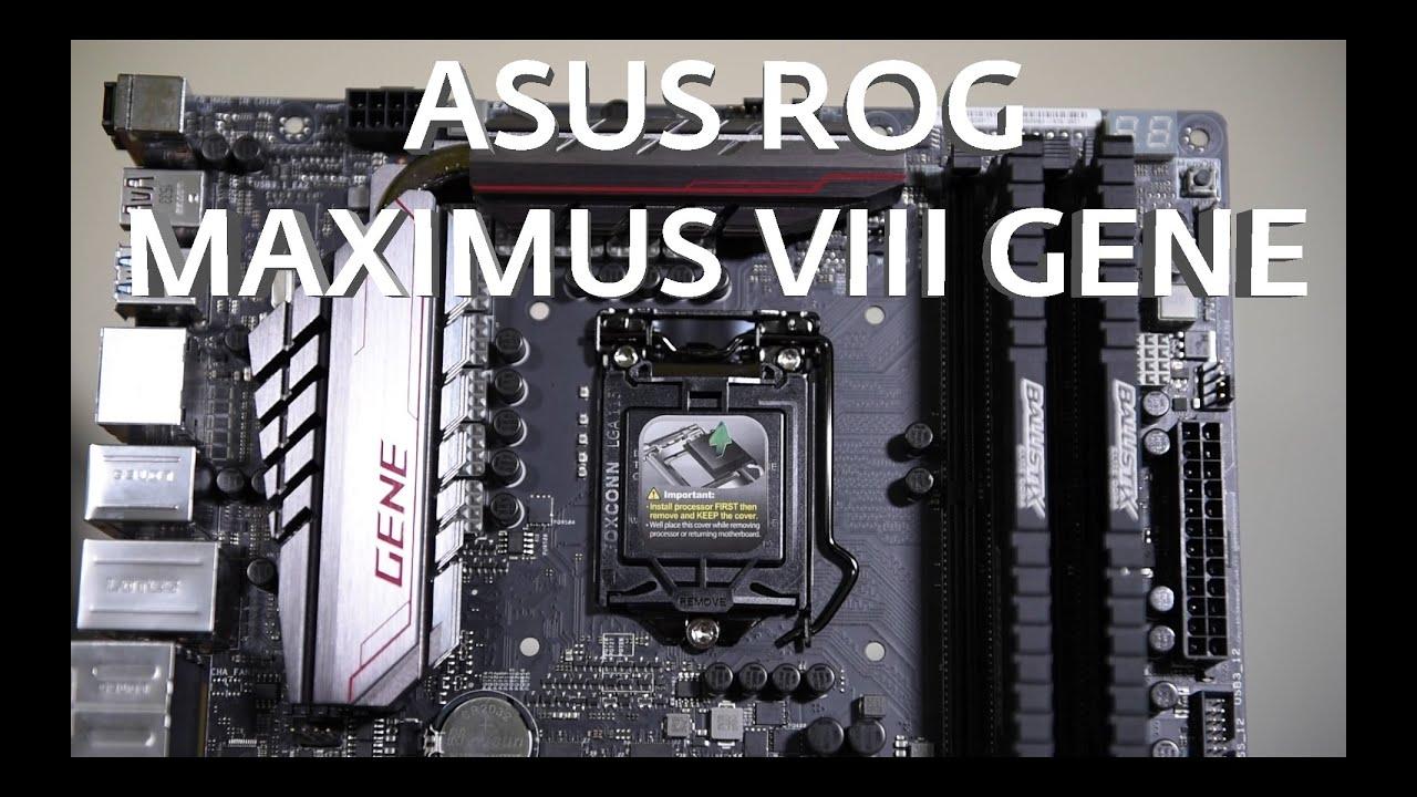 MAXIMUS VIII GENE FAQ | Motherboards | ASUS USA