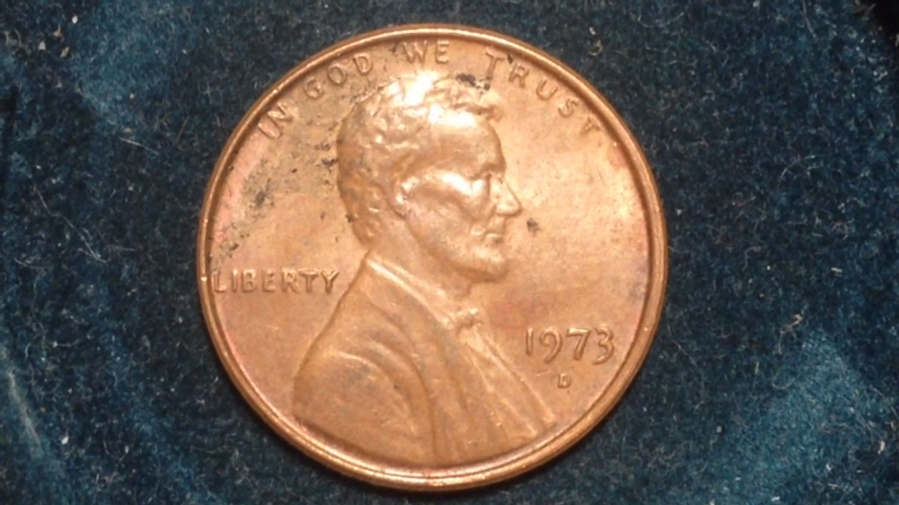 1973 Lincoln Penny (Mintage 3 6 billion, value up to $9)
