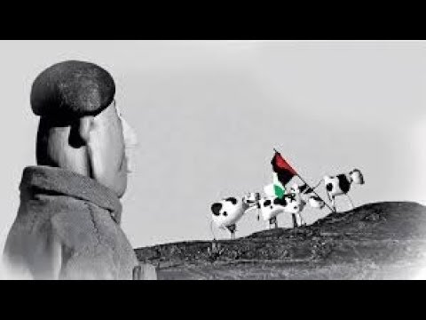 "Palestine -- Les 18 fugitives --"" Les Vaches de l'Intifada "" Film Doc--ARTE 2014"