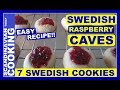 How To Make Easy Swedish Raspberry Cave Cookies  ☕ Hallongrottor
