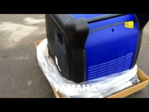 Супер тихий инверторный генератор Yamaha EF6300iSE