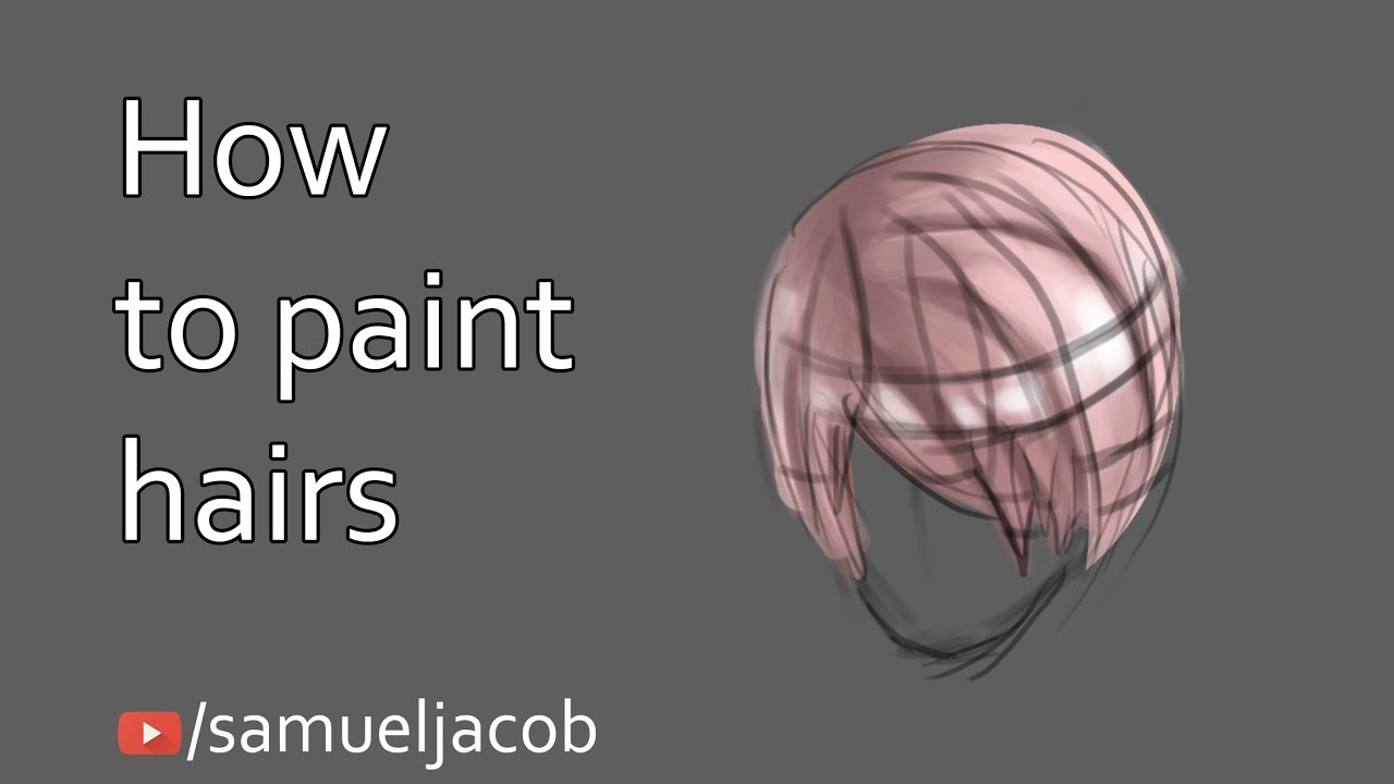 Anime hairs painting tutorial photoshop youtube anime hairs painting tutorial photoshop baditri Image collections