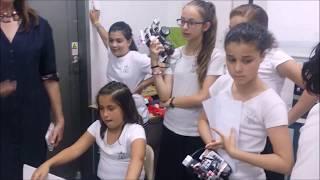 Урок робототехники в начальной школе Израиля