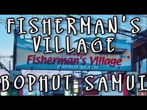 FISHERMAN'S VILLAGE BOPHUT KOH SAMUI THAILAND