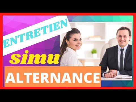 ENTRETIEN ALTERNANCE SIMULATION: PRESENTEZ-VOUS✅