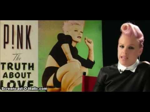 P!nk Talks About Here Comes The Weekend (The Truth About Love Track by Track Commentary )