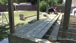 Gambar cover How To Build A Deck | #3 Decking [Posts/Border/Decking]