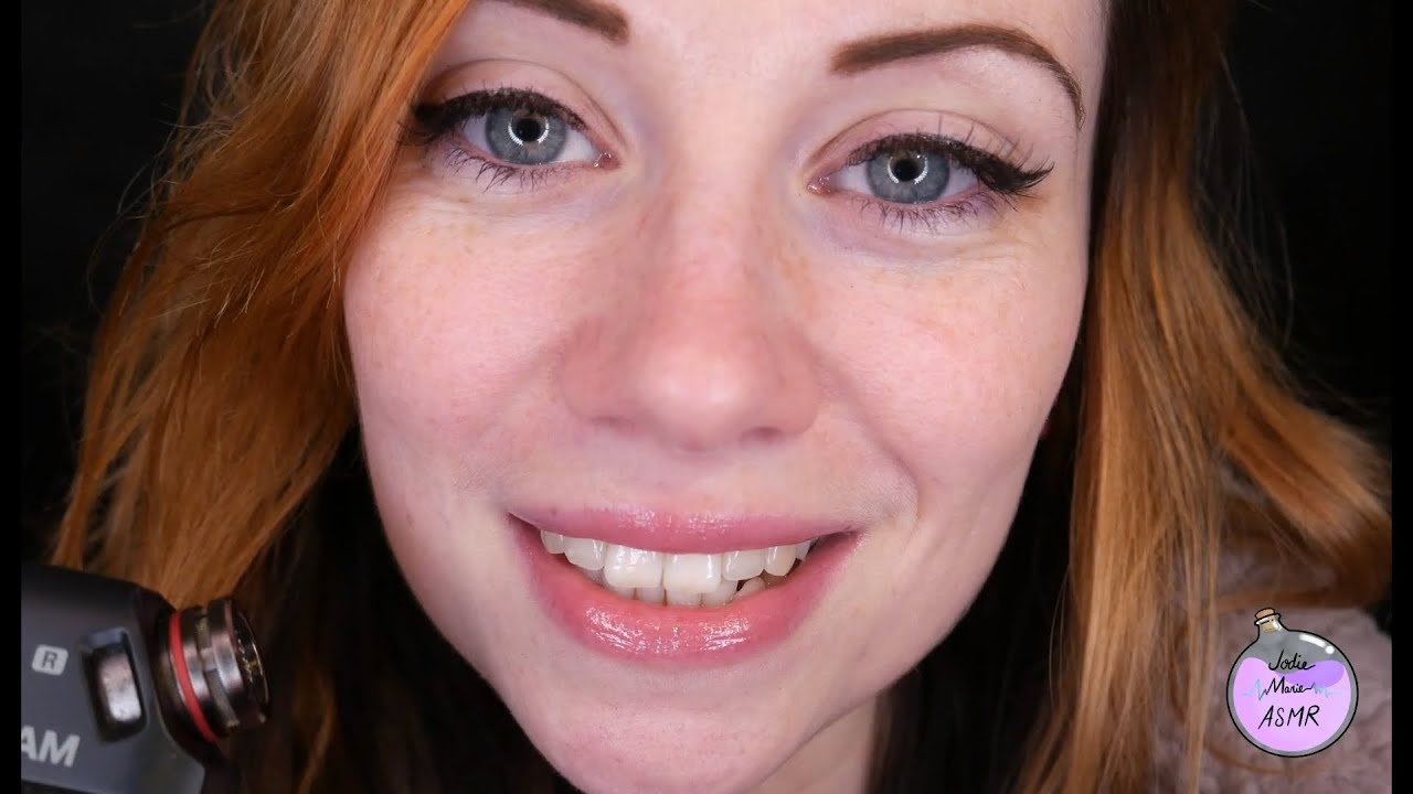 ASMR- TINGLY Teeth Tapping ! 😬(MOUTH SOUNDS) *FAR & CLOSE