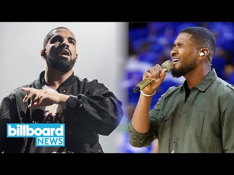 Drake Ties Usher for Most Weeks at No. 1 in a Year on Billboard Hot 100 | Billboard News Mp3