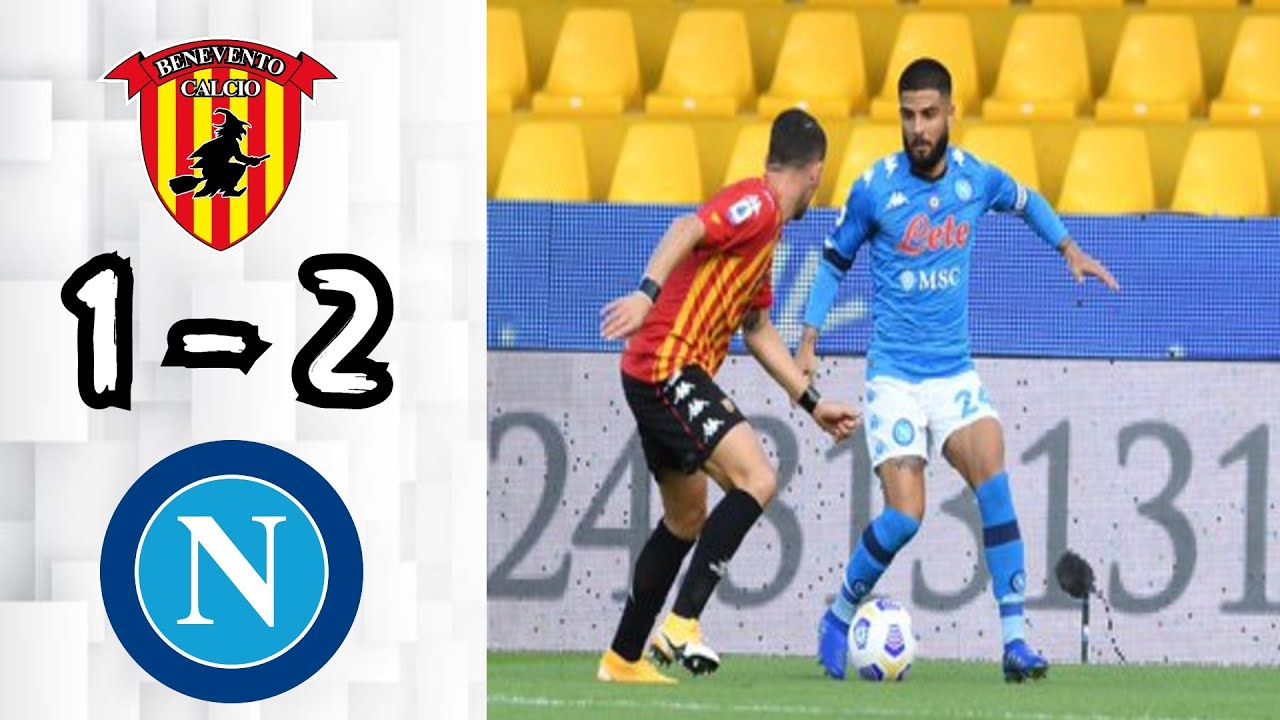 Benevento 1 2 Napoli All Goals Extended Highlights Youtube