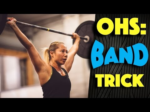 Overhead Squat Technique (Banded OHS?)
