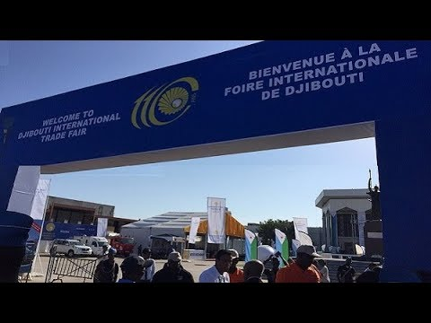 Ethiopian businesses and manufacturers at the Second Djibouti International Trade Fair