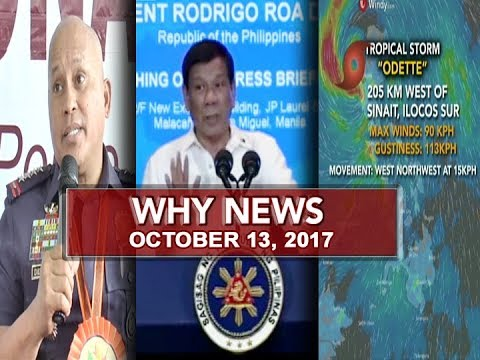 UNTV: Why News (October 13, 2017)