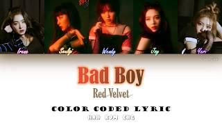 Red Velvet-Bad Boy Color coded lyric Lyric Han|Rom|Eng by NEStar 088