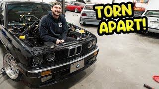 getting-the-e30-fully-ready-for-its-upgraded-drivetrain