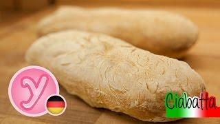 Frisches Krosses CIABATTA - Ideal als Sandwich Bruschetta und zum Grillen