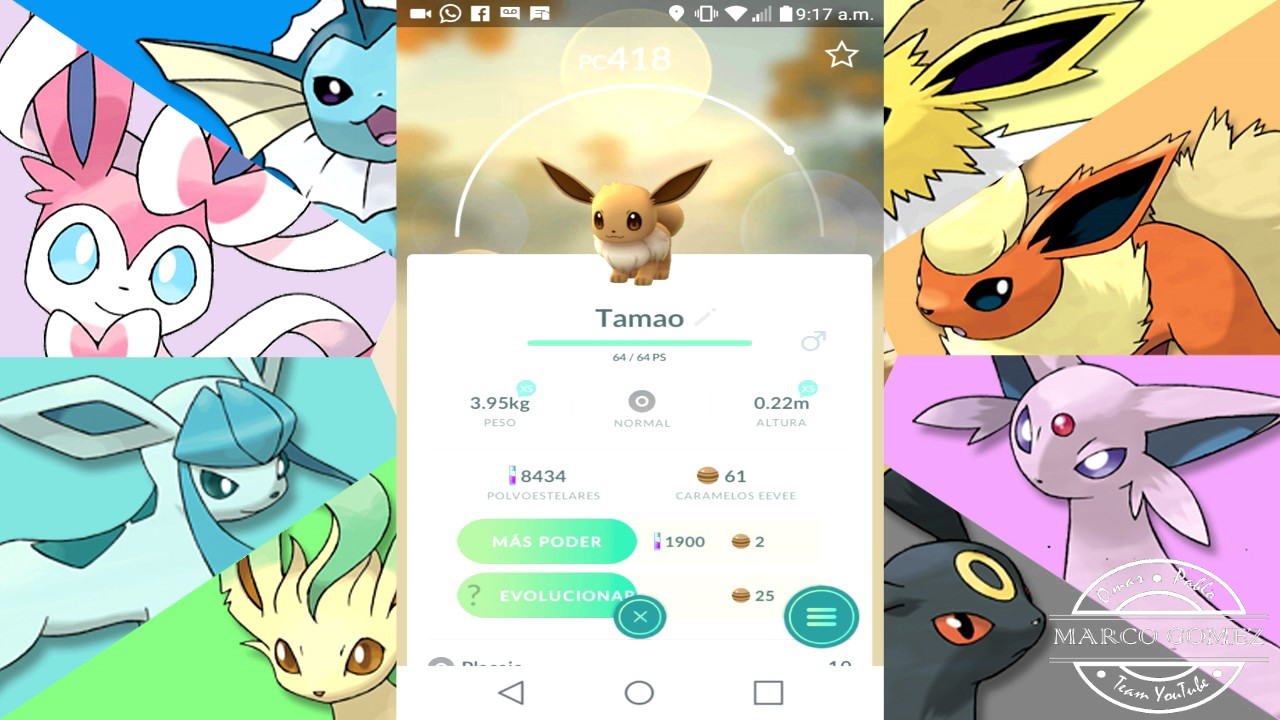 Truco Pokemon Go Evolucionar Eevee A Espeon O Umbreon Youtube