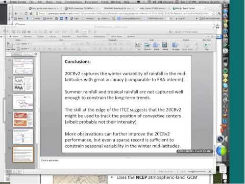 09 25 12 Evaluation of Reanalysis Products