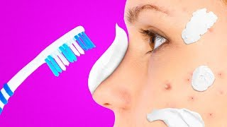 31 CRAZY TRICKS WITH TOOTHPASTE YOU NEVER IMAGINED thumbnail