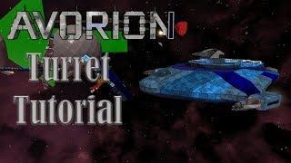Avorion --- Building turret tutorial