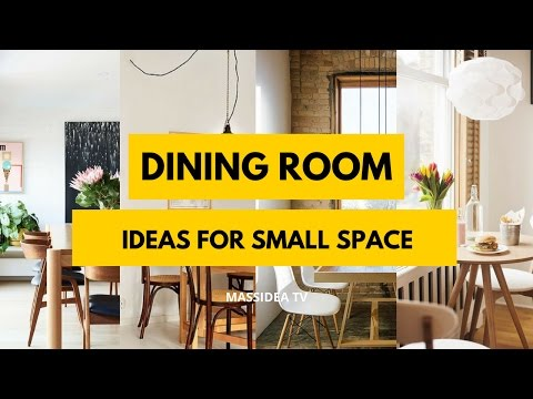 50+ Best Dining Room Ideas for Small Space 2017