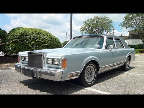 My First Car: A 1989 Lincoln Town Car -Experience by Charles Smith