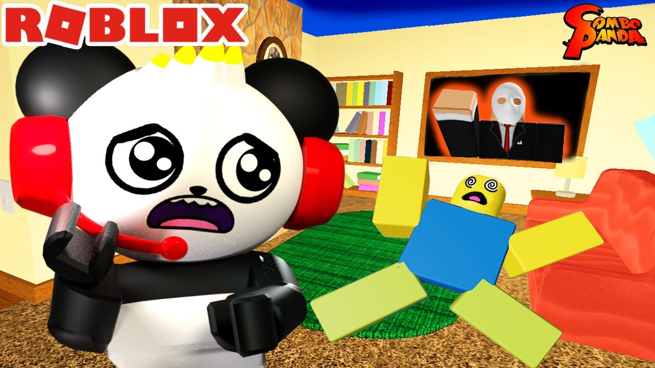 DON'T TURN OFF THE LIGHTS! Roblox Flicker Let's Play with Combo Panda