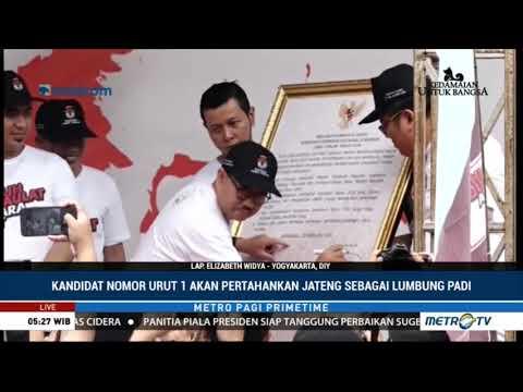 Ganjar - Gus Yasin Akan Pertahankan Jateng Sebagai Lumbung Padi Nasional