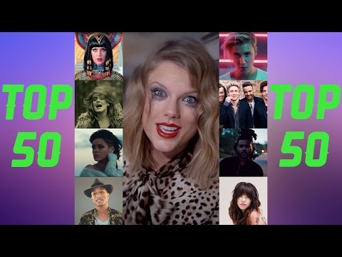The 50 most viewed songs on youtube!