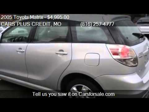 2005 toyota matrix xr 4dr wagon for sale in independence mo youtube. Black Bedroom Furniture Sets. Home Design Ideas