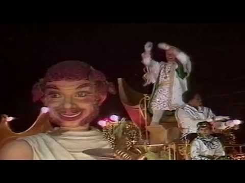 Bacchus Parade WDSU-TV6 Live Coverage 1986, John Ritter King