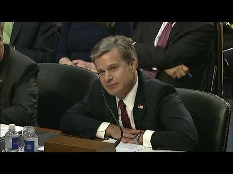 Sen. Cruz Questions FBI Director Wray and Inspector General Horowitz - June 18, 2018